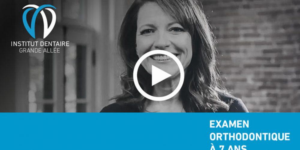 L'importance d'un examen orthodontique dès 7 ans